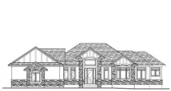 1907 Sq Ft Walkout Bungalow